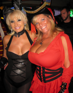 Mature woman with giant big tits